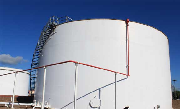 Tank Facility in Victoria, TX – Tank Base Protection