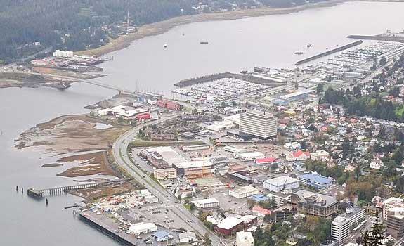 Downtown Juneau Waterfront – Steel Pile Protection