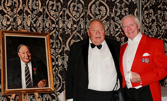 UK Chairman, David Winn OBE joins the Company's 'Hall of Fame'