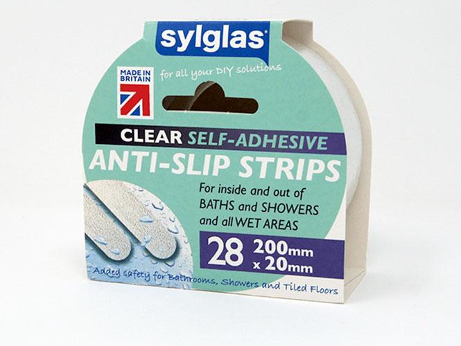 Sylglas Anti-Slip Strips Clear
