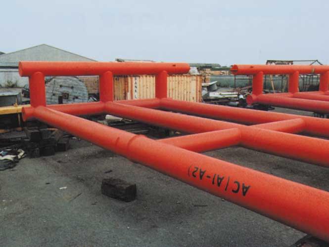 SeaShield Rigspray on marine piping
