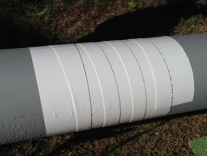 protective pipeline tape