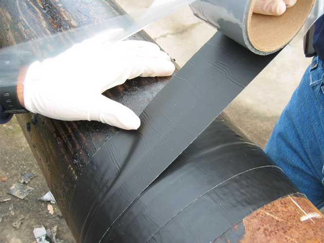 Bitumen Butyl Tape Coatings