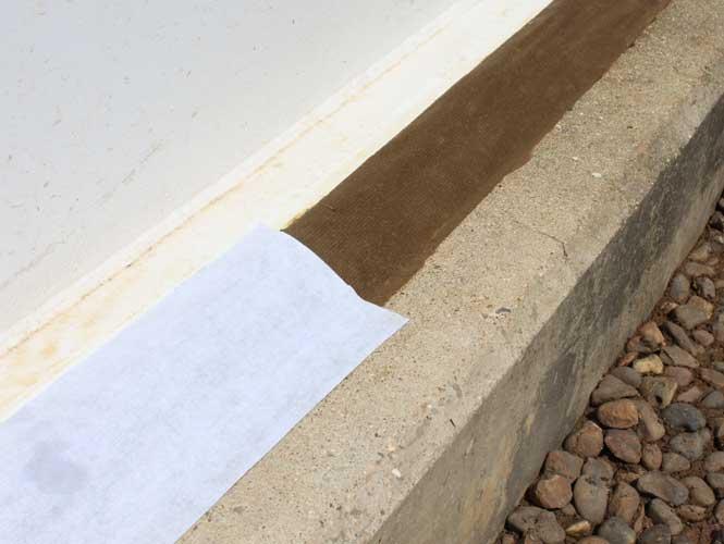 industrial tank base sealant tape
