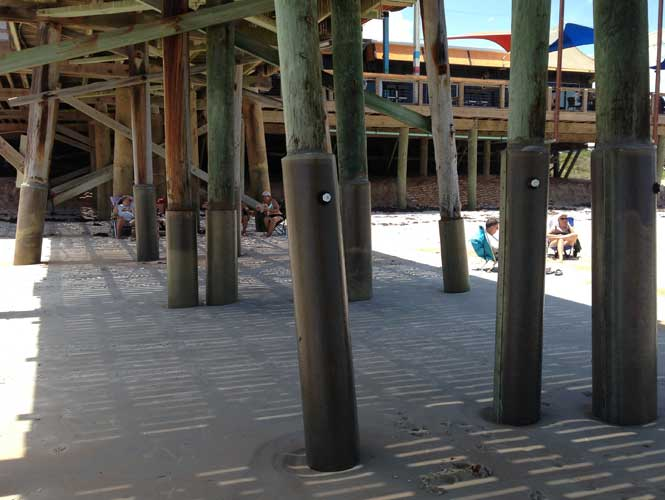 SeaShield 400 on beach boardwalk