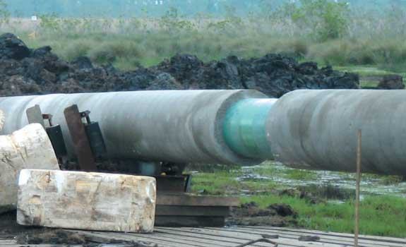 Pipeline DCP Midstream – Girth Weld Protection