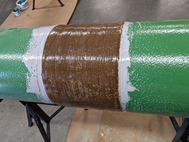 Applied Abrasion Resistant Outerwrap
