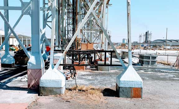 Desalination Plant – Structural Steel Protection