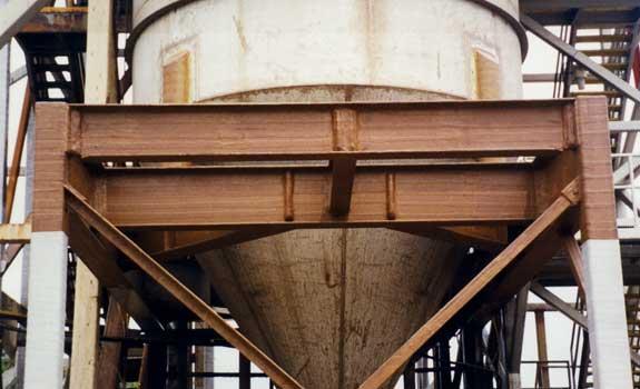 Cargill Salt Head Frame – Exposed Steelwork Corrosion Protection