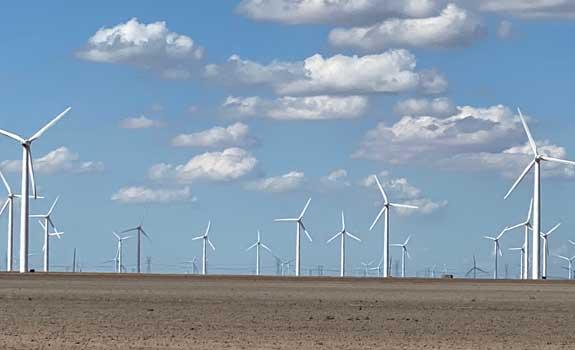 California Wind Farm – Foundation Bolt Protection