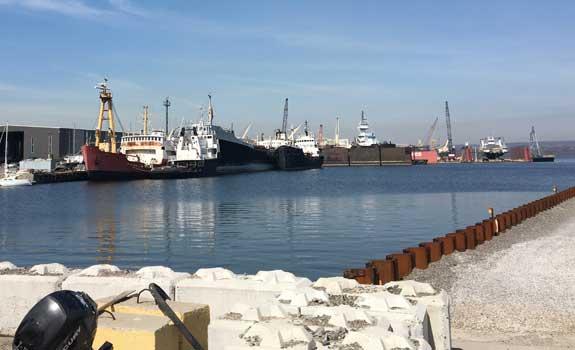 Hamilton Harbour – Tie Rod Protection