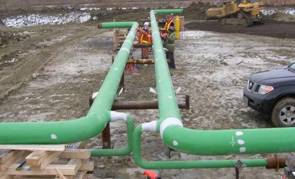 Rex Pipelines – Pipeline Holiday Repair