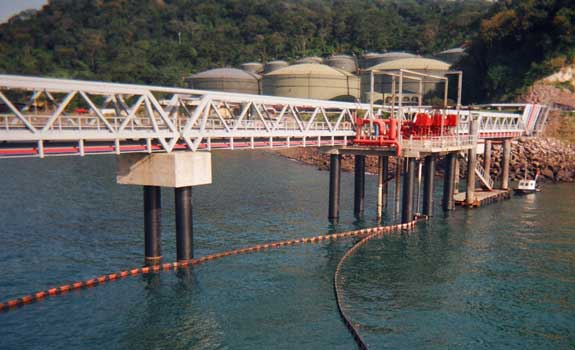 Decal Panama Facility – Jetty Pile Protection