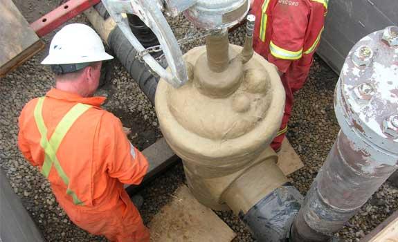 Pipeline valve corrosion protection