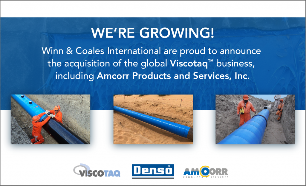 Winn & Coales International Acquires The Global Viscotaq™ Business, Including Amcorr Products And Services, Inc.